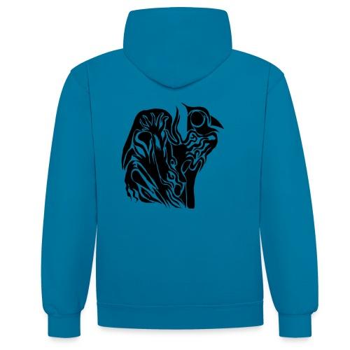 Coque Abstrait - Sweat-shirt contraste