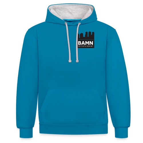 bamn3 png - Contrast Colour Hoodie