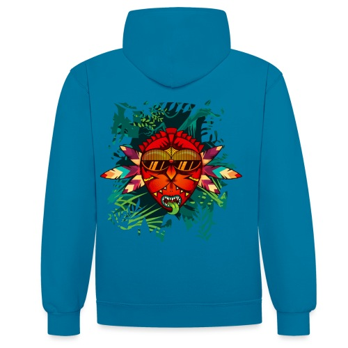 Back to the Roots - Sweat-shirt contraste