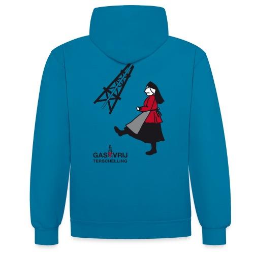 lobke - Contrast hoodie