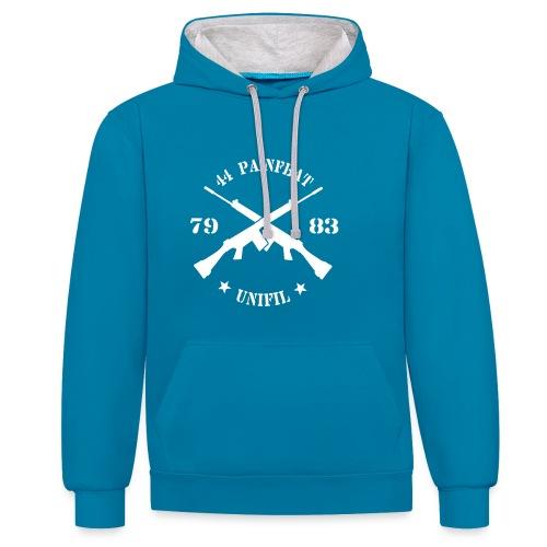 waitz06bunifilmouwzwart7983 - Contrast hoodie