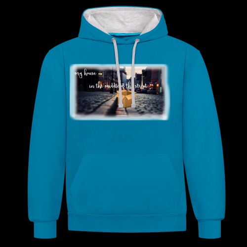 HOUSE SERIES - Contrast hoodie