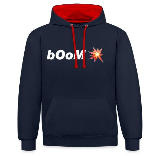 bOoM - Contrast Colour Hoodie
