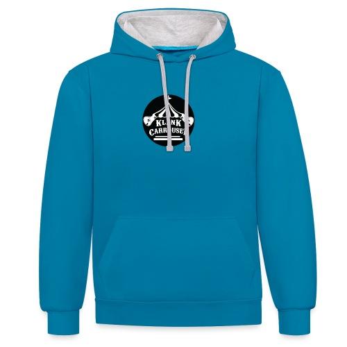 klankcarrousel1 - Contrast hoodie
