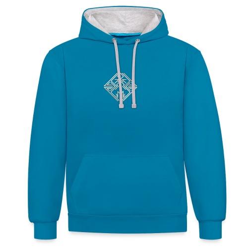 JDW-Designs Logo - Contrast hoodie