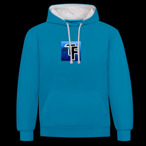 Limited 100 subscribers hoodies - Contrast Colour Hoodie