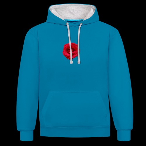 ForeMan- TheMansRose - Contrast Colour Hoodie