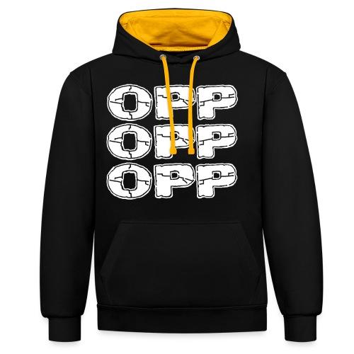OPP Logo White - Kontrastihuppari