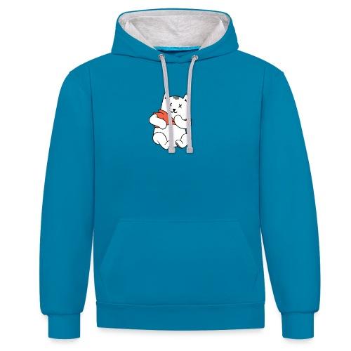Winnie De Poes - Contrast hoodie