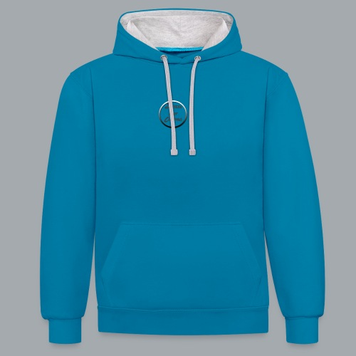 SixteenFootClothing© Circle-Logo - Contrast Colour Hoodie