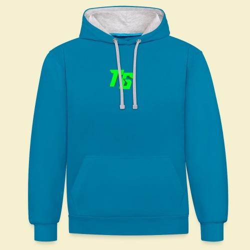 TristanGames logo merchandise - Contrast hoodie