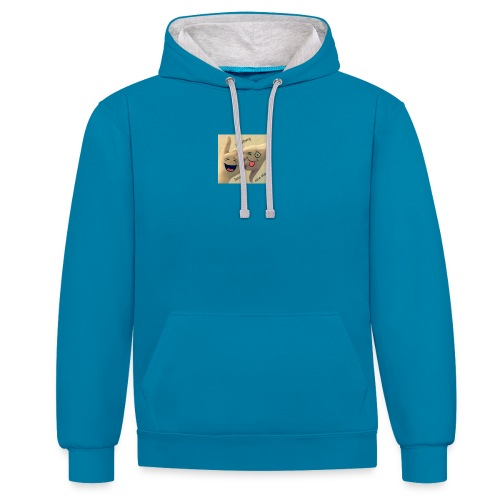 Friends 3 - Contrast Colour Hoodie