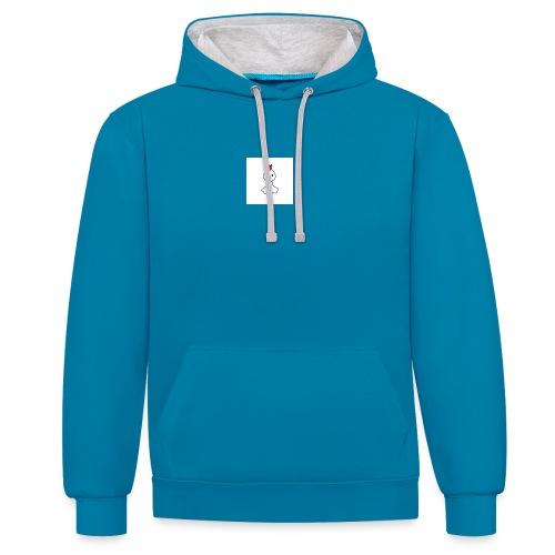 kipje - Contrast hoodie