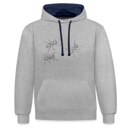 Ants - Contrast Colour Hoodie