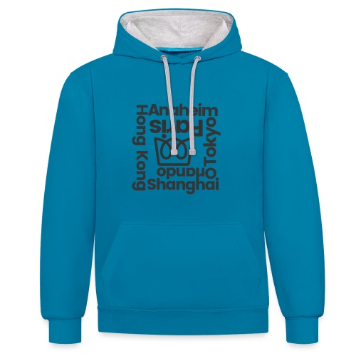 Anaheim and Beyond - Contrast Colour Hoodie