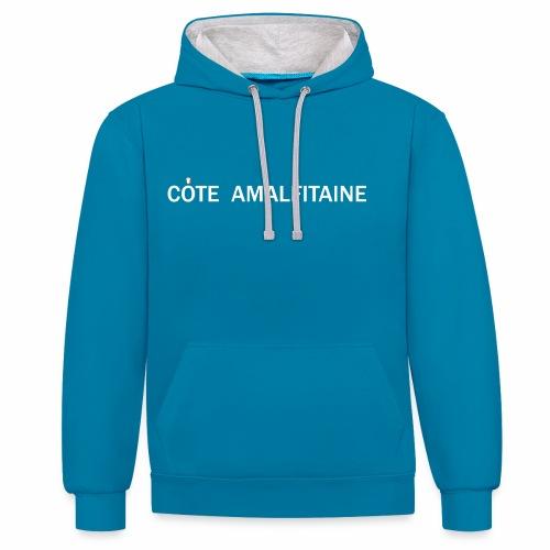 Côte Amalfitaine - Sweat-shirt contraste