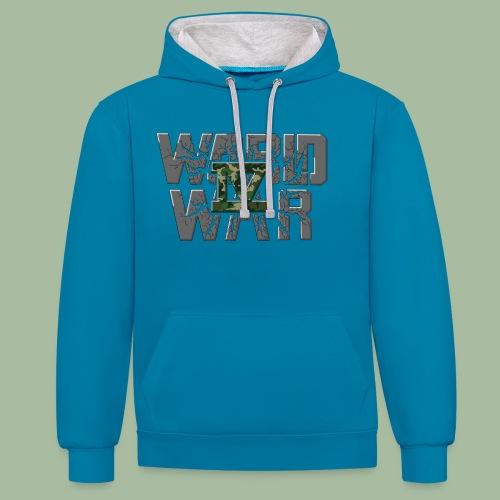 World War 4 - Sweat-shirt contraste