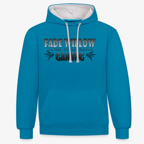 Fade Willow Gaming - Contrast Colour Hoodie