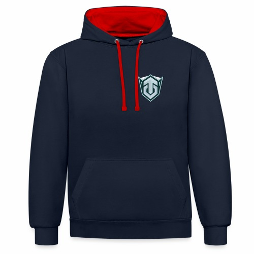 PNG Logo - Contrast Colour Hoodie