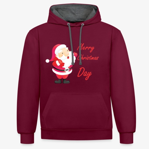 Merry Christmas Day Collections - Sweat-shirt contraste