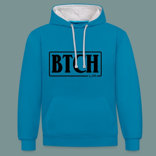 BTCH - Contrast hoodie