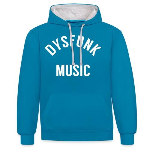 dysfunkmusic 1-02-01 - Contrast Colour Hoodie