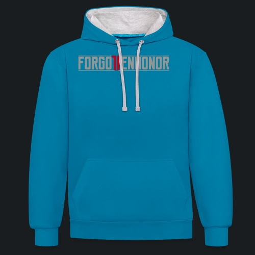 FH_NEW_VECTOR - Contrast Colour Hoodie