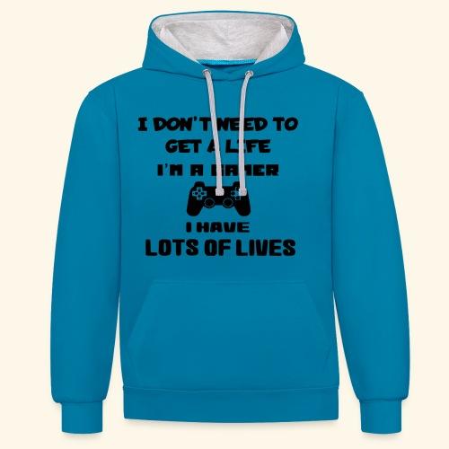 Gamer 003 - Contrast hoodie