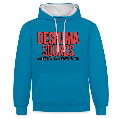 DSLogo png - Contrast hoodie