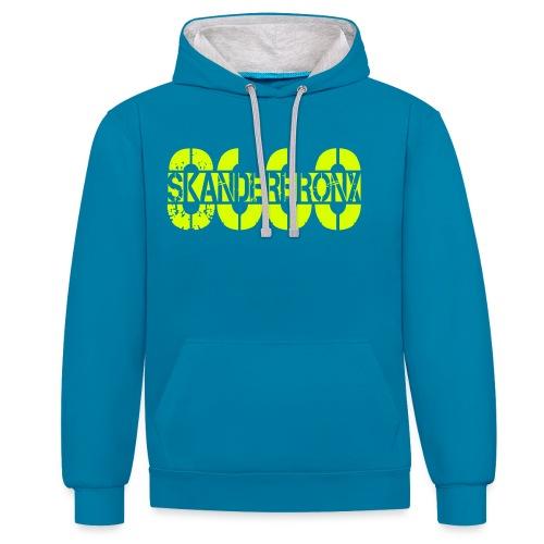 SKANDERBRONX - Kontrast-hættetrøje