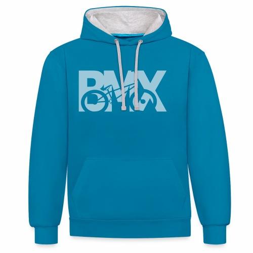 BMX - Kontrast-Hoodie