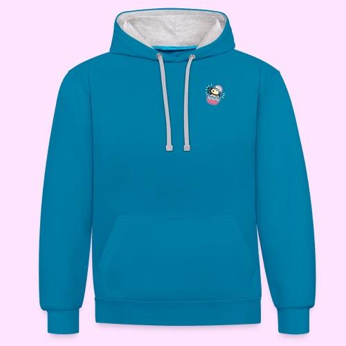 Easter Pinkguin (Yellowguin?) - Kontrast-hættetrøje