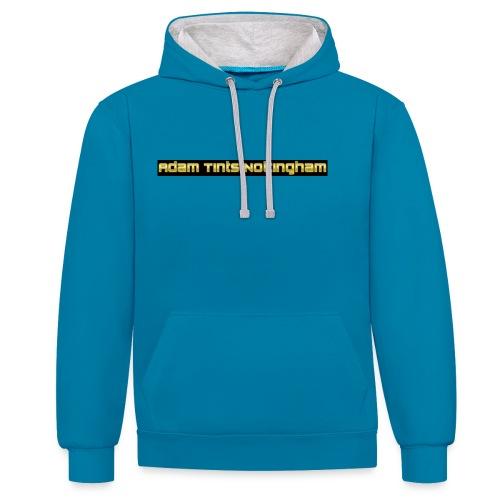 Adam Tints Nottingham - Contrast Colour Hoodie