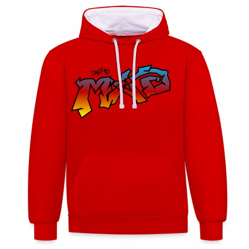 Life Is MAD CGI Makeover TM collaboration - Contrast Colour Hoodie