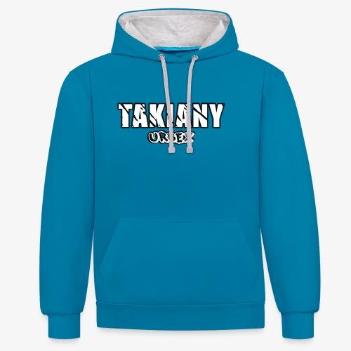 Takiany - Contrast hoodie
