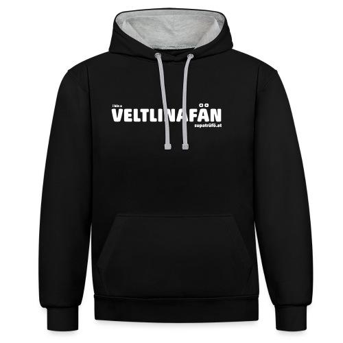 VELTLINAFAN - Kontrast-Hoodie
