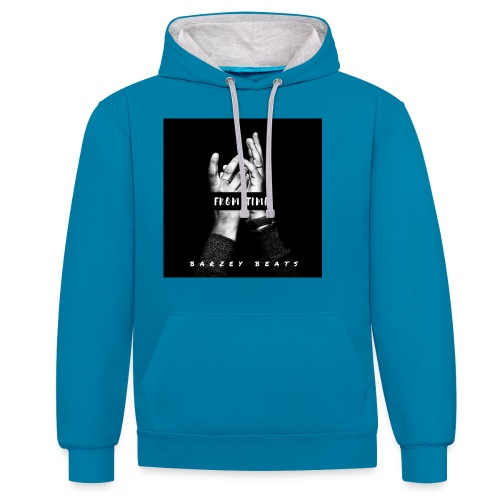 Love OUtta barz - Contrast Colour Hoodie