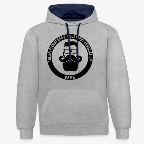 bbma - Contrast hoodie