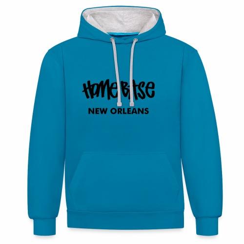 Home City New Orleans - Kontrast-Hoodie