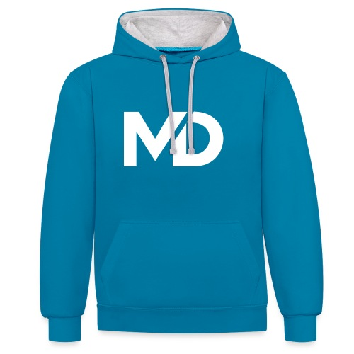 MD Clothing Official© - Sweat-shirt contraste