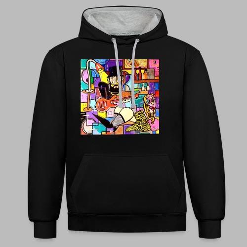 Vunky Vresh Vantastic - Contrast hoodie