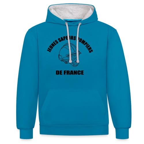 Jeunes Sapeurs Pompiers de France - Sweat-shirt contraste