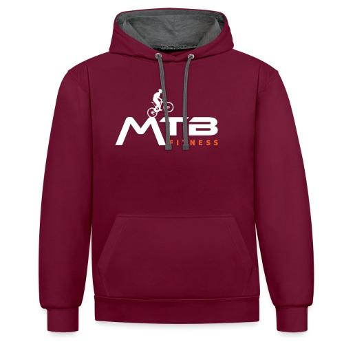 MTB Fitness Hoodie - Contrast Colour Hoodie