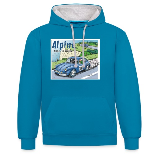 Polete en Alpine 106 - Sweat-shirt contraste