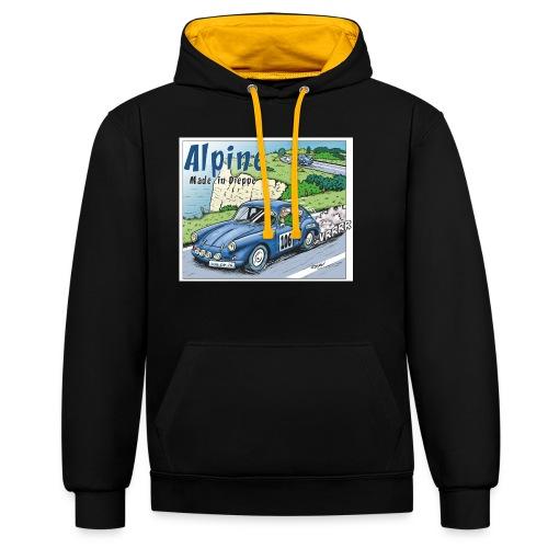 Polete en Alpine 106 - Sweat-shirt contraste