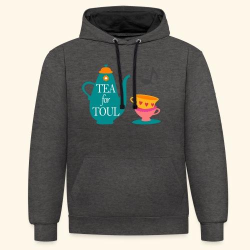 Tea for Toul - Sweat-shirt contraste