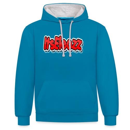 ItsEleozz - Contrast hoodie