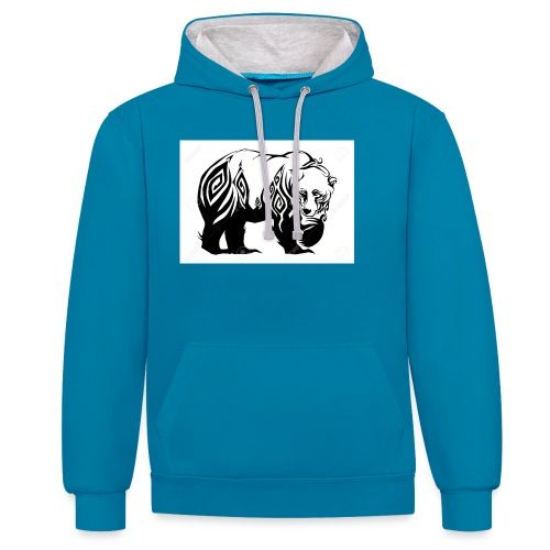 ours - Sweat-shirt contraste
