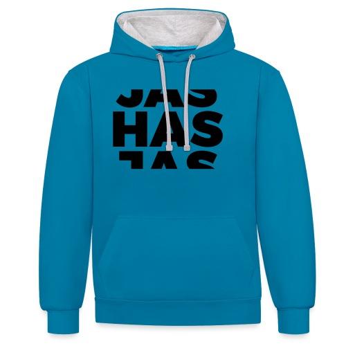 JasHasJas - Contrast hoodie