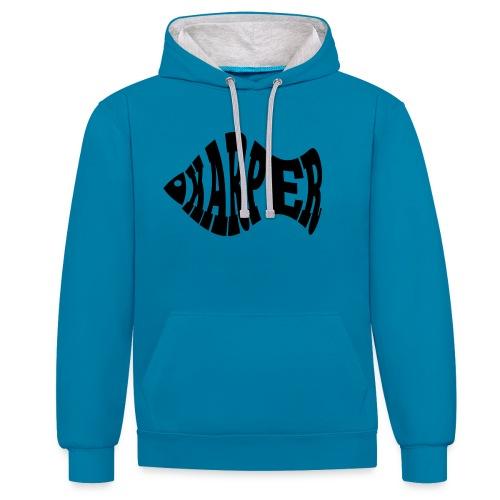 Karper - Contrast hoodie